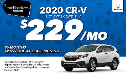 2020 CR-V Lease Special