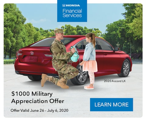 Military Appreciation Offer $1000