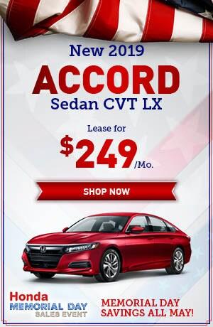 New 2019 Accord Sedan CVT LX