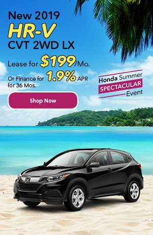 New 2019 HR-V CVT 2WD LX