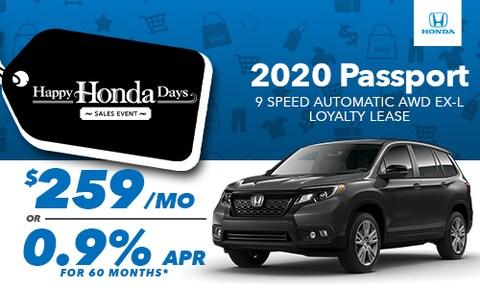 2020 Passport 9 Speed Auto