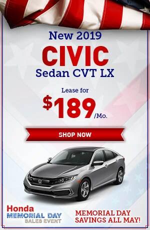 New 2019 Civic Sedan CVT LX