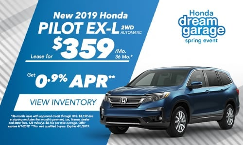 2019 Pilot - Honda Spring Dream Garage
