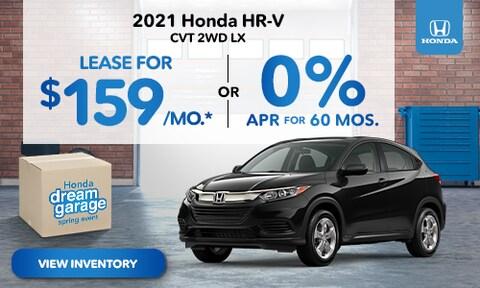 2021 Honda HR-V Lease Offer