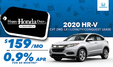 2020 HR-V Loyalty/Conquest Lease