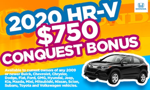 New HR-V Conquest Special