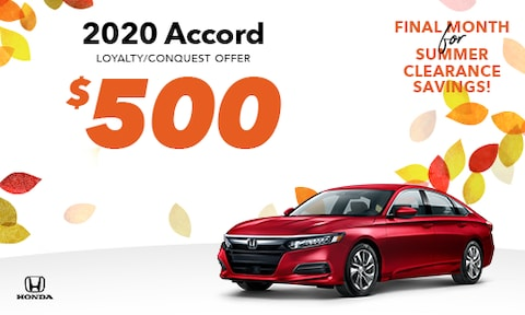 New Accord Loyalty/Conquest Special