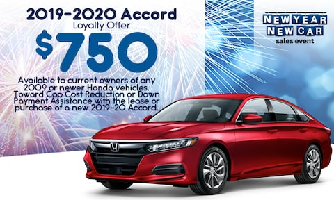 2019-2020 Accord Loyalty Offer - Jan 2020