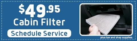 Cabin Filter Offer