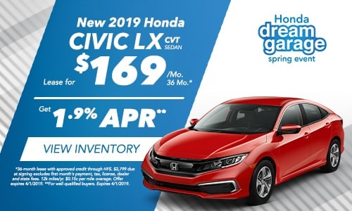 2019 Civic - Honda Spring Dream Garage
