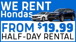 Honda Rental Offer