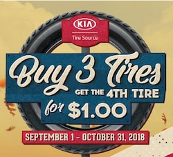 Buy 3 Tires, Get the 4th Free!