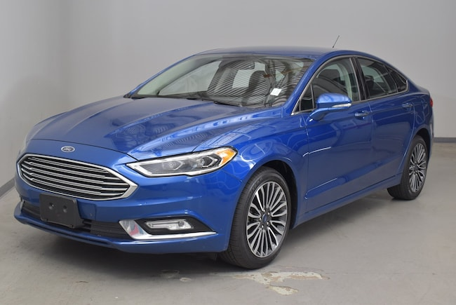 Used 2017 Ford Fusion SE Sedan for sale in Cary, NC