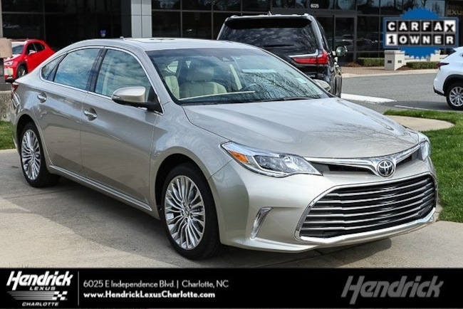 Used 2018 Toyota Avalon For Sale In Hickory Nc