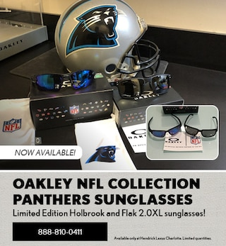 OAKLEY NFL COLLECTION PANTHERS SUNGLASSES