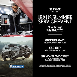 Lexus Summer Service Event
