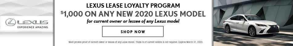 Lexus Lease Loyalty Program