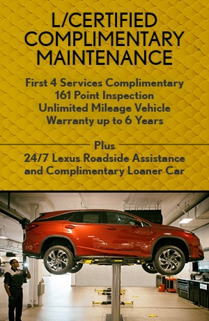 L/Certified Complimentary Maintenance