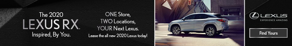 New 2020 Lexus RX - Branding