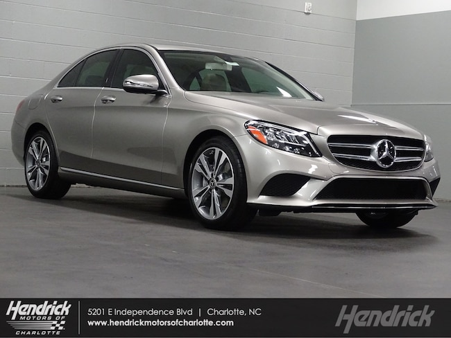 New 2019 Mercedes-Benz C-Class C 300 Sedan Charlotte