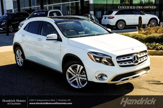 Certified 2018 Mercedes-Benz GLA 250 SUV Charlotte