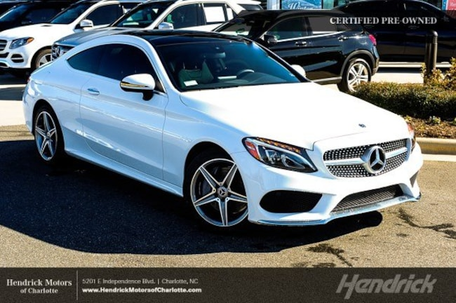 Certified 2018 Mercedes-Benz C-Class C 300 Coupe Charlotte
