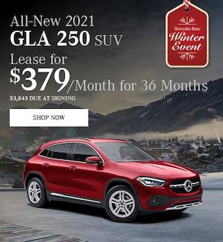 All-New 2021 GLA 250 SUV