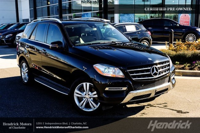 Pre-Owned 2015 Mercedes-Benz M-Class ML 350 SUV Charlotte