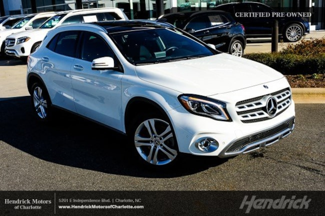 Pre-Owned 2018 Mercedes-Benz GLA 250 SUV Charlotte