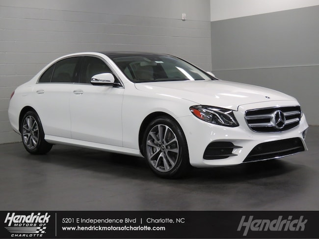 New 2018 Mercedes-Benz E-Class E 400 Sedan Charlotte