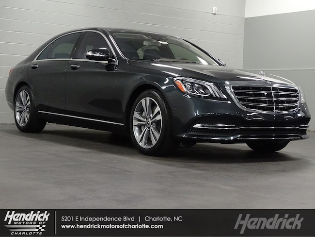 New 2019 Mercedes-Benz S-Class S 560 Sedan Charlotte