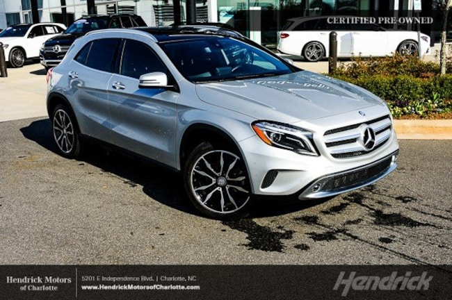 Pre-Owned 2016 Mercedes-Benz GLA 250 SUV Charlotte