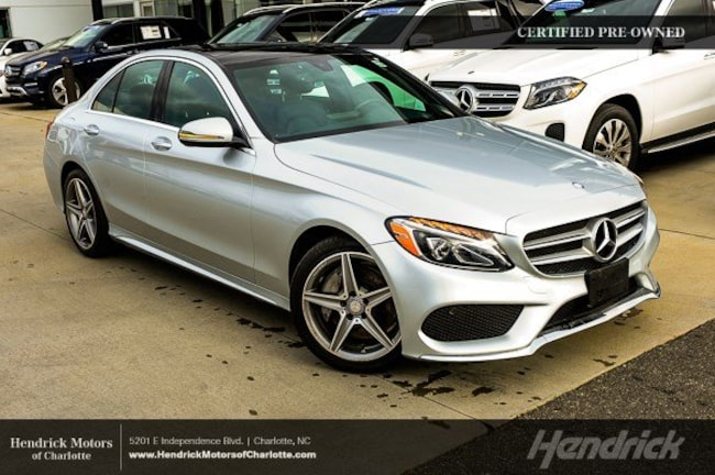 Certified 2016 Mercedes-Benz C-Class C 300 Sport Sedan Charlotte