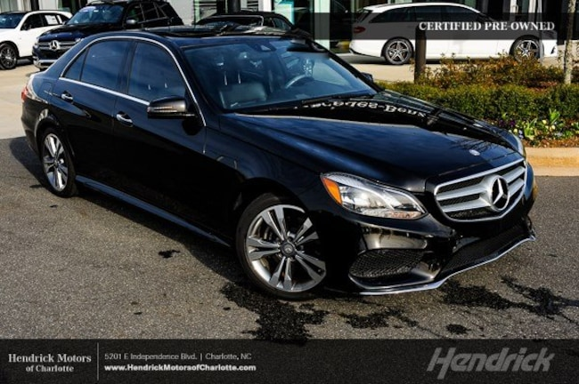 Certified 2016 Mercedes-Benz E-Class E 350 Sport Sedan Charlotte
