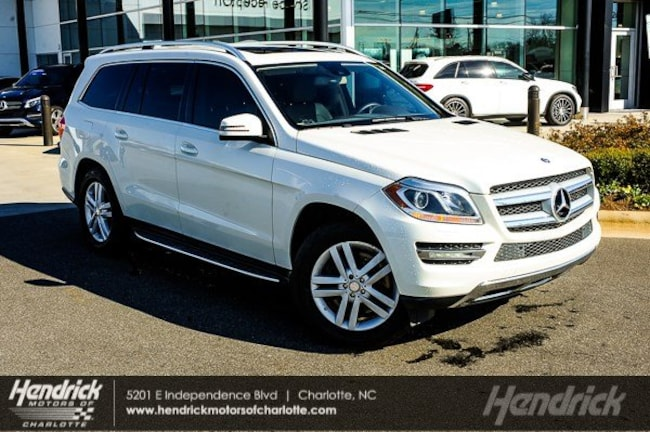 Pre-Owned 2013 Mercedes-Benz GL-Class GL 450 SUV Charlotte