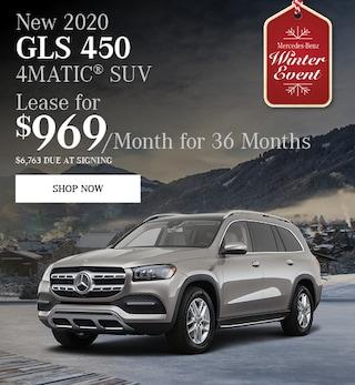 New 2020 GLS 450 4MATIC® SUV