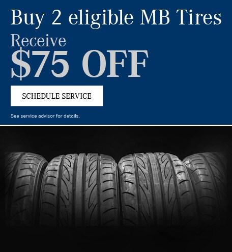 Buy 2 Tires Get $75 Off