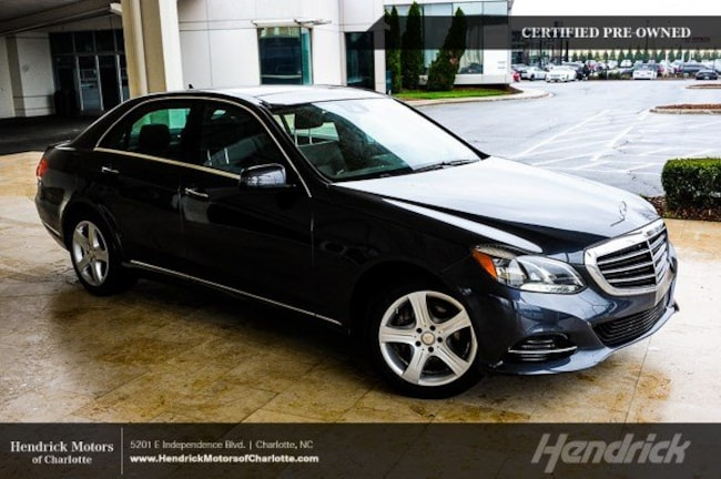 Pre-Owned 2016 Mercedes-Benz E-Class E 350 Sport Sedan Charlotte