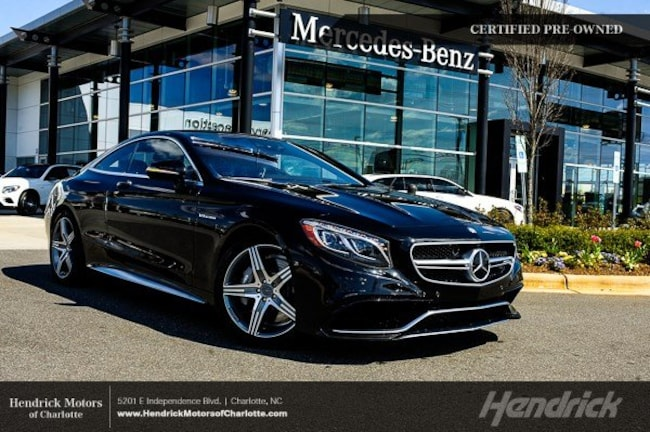 Certified 2016 Mercedes-Benz S-Class AMG S 63 Coupe Charlotte