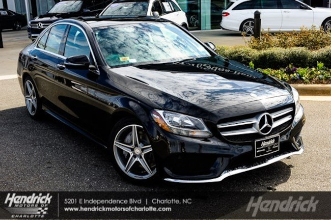 Pre-Owned 2016 Mercedes-Benz C-Class C 300 Sport Sedan Charlotte