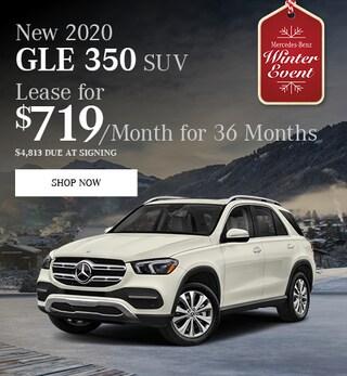 New 2020 GLE 350 SUV