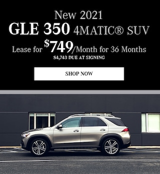 New 2021 GLE 350 4MATIC®