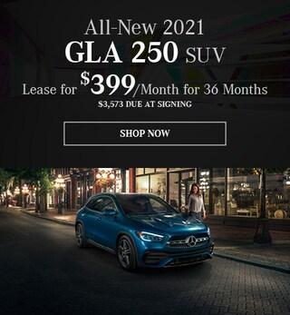 New 2021 GLA 250