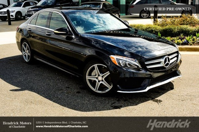 Pre-Owned 2015 Mercedes-Benz C-Class C 300 Sport Sedan Charlotte