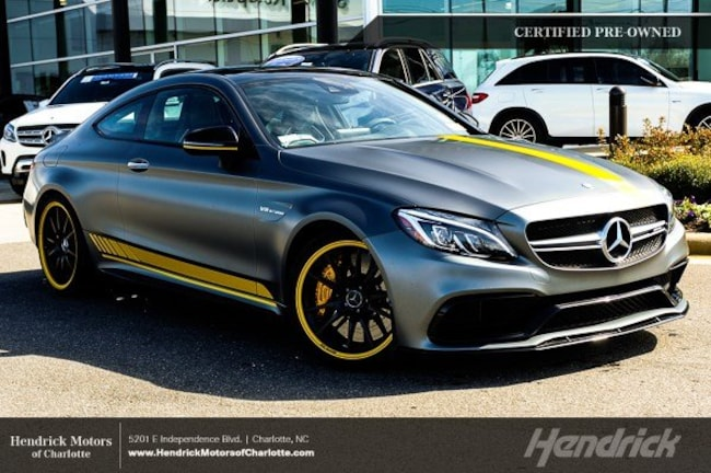 Certified 2017 Mercedes-Benz C-Class AMG C 63 S Coupe Charlotte
