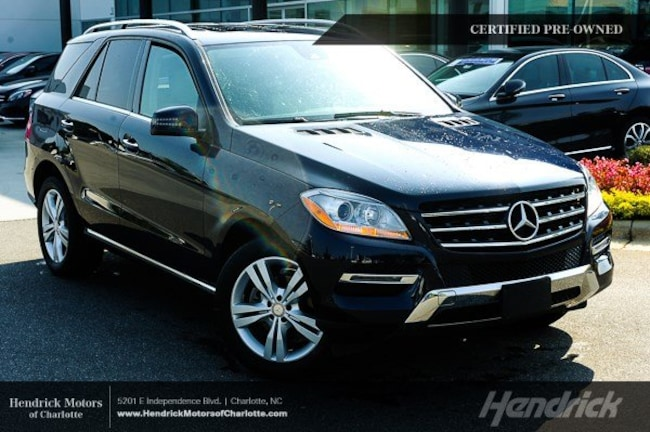 Certified 2015 Mercedes-Benz M-Class ML 350 SUV Charlotte