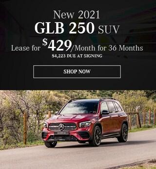 New 2021 GLB 250