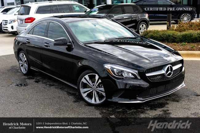 Pre-Owned 2019 Mercedes-Benz CLA CLA 250 Sedan Charlotte