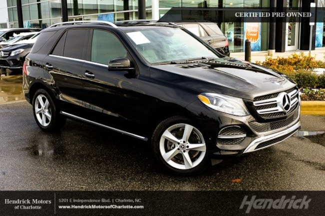 Certified 2017 Mercedes-Benz GLE 350 SUV Charlotte