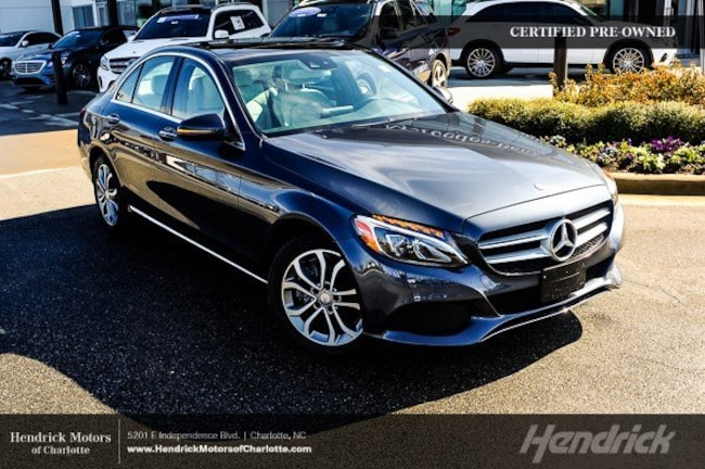 Certified 2016 Mercedes-Benz C-Class C 300 Sedan Charlotte